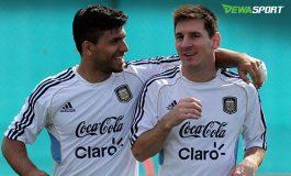 Sergio Aguero Doakan Lionel Messi Tampil Buruk