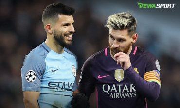 Amarah Lionel Messi Warnai Kekalahan Barcelona Dari Manchester City
