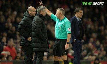 Jose Mourinho Dikartu Merah, Manchester United Kembali Imbang
