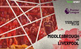 Prediksi Prediksi Pertandingan antara Middlesbrough melawan Liverpool