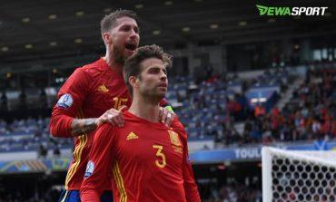 Gerard Pique Bantah Tak Akur Dengan Sergio Ramos