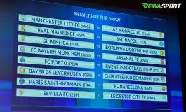Hasil Undian Babak 16 Besar Liga Champions