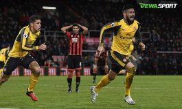 Arsenal Imbangi Bournemouth Secara Dramatis