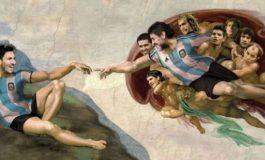 Di Argentina, Messi itu Nabi Adam, Maradona Tuhannya