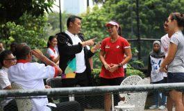 Menpora Dicurhati Uang Saku dan Peralatan Atlet yang Telat di Pelatnas Tenis