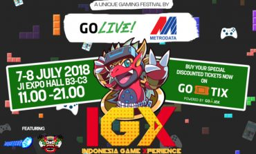 METRODATA Gandeng Go-Live Gelar Indonesia Game Xperience 2018