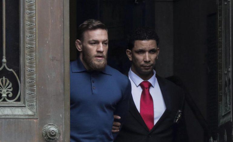 McGregor Pastikan Hadiri Sidang Kasus Lempar Troli