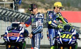 Valentino Rossi Senang Hati Sambut Kembalinya Jorge Lorenzo ke Yamaha