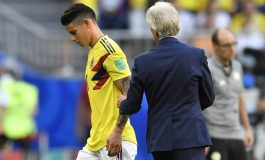 James Rodriguez Menangis Setelah Kolombia Tersingkir