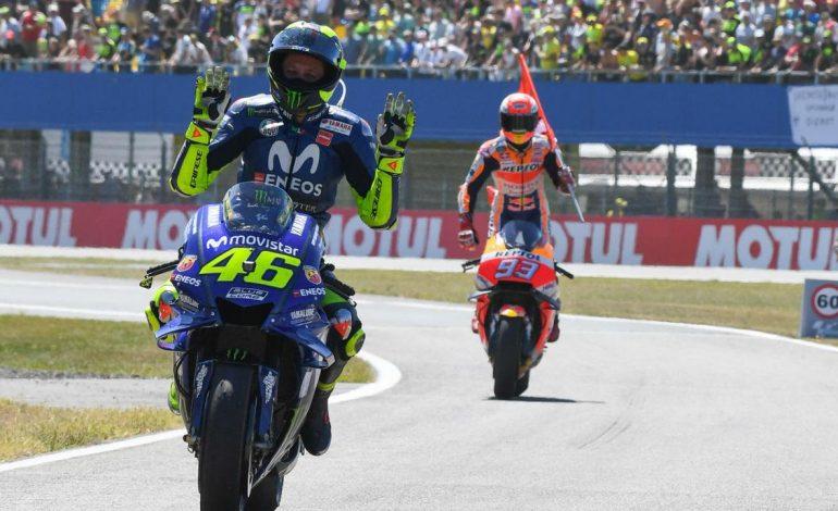 Legenda Sanjung Motivasi Valentino Rossi di MotoGP