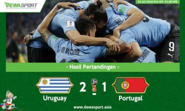Uruguay vs Portugal: Dua Gol Edinson Cavani Paksa Portugal Pulang
