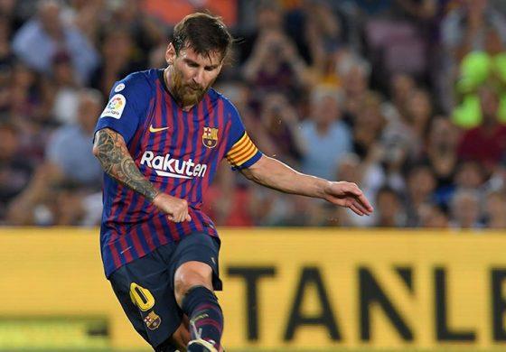 Busquets:'Karya Seni' Messi Selamatkan Barcelona