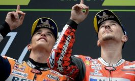 Reaksi Marc Marquez Saat Tahu Jorge Lorenzo Jadi Rekan Setimnya di MotoGP 2018