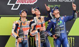 Masih Ingat Podium MotoGP Ceko 2017 Tidak Ada Semprot Sampanye?