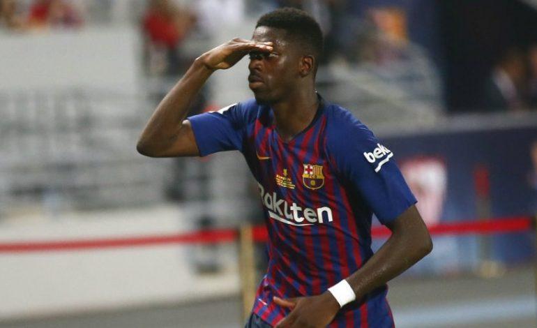 Bos Barcelona Sematkan Harapan Tinggi ke Dembele