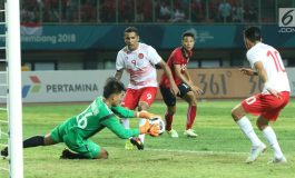 Jadwal Timnas U-23 Vs Hong Kong di Asian Games 2018