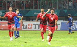 Timnas Indonesia U-23 Upacara 17an di Hotel