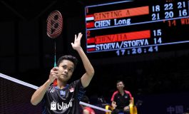 Resep Anthony Ginting Singkirkan Chen Long
