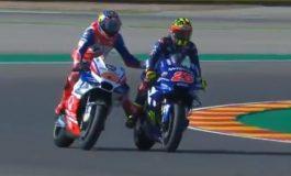 Video Jack Miller Nyetut Motor Maverick Vinales di FP1 MotoGP Aragon