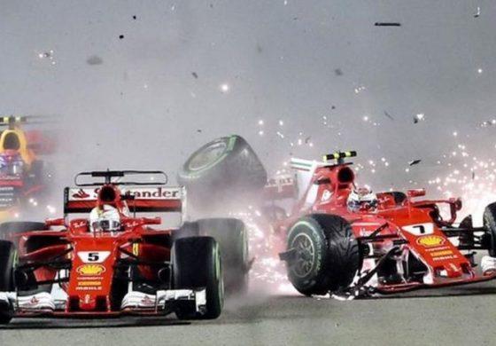 Tonton Deh 5 Kejadian Mendebarkan Saat Balapan GP F1 Singapura