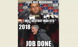 MU Gagal Menang, Meme Kocak Sindir Nasib Mourinho
