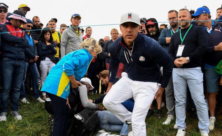 Bola Golf Nyasar Hancurkan Bola Mata Penonton Ryder Cup