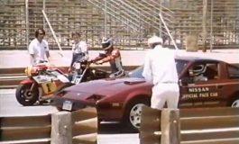 Nostalgia GP500 Jadul, Honda NSR500 Diadu Nissan 300ZX di Laguna Seca!