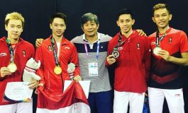 Teman Sekamar Kevin Sanjaya Jajal Profesi Lain, Netizen : Kaku Banget Jom