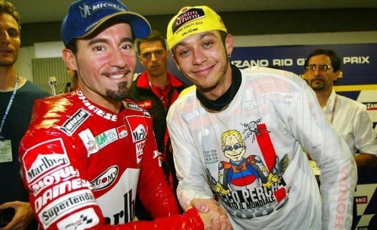 Max Biaggi Kenang Rivalitasnya dengan Valentino Rossi di MotoGP