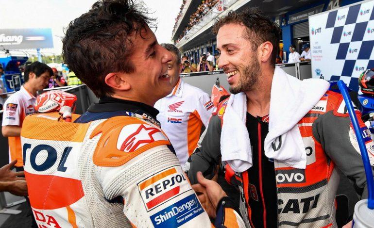 Marquez Ungkap Peran Penting Dovizioso dalam Kesuksesannya di MotoGP