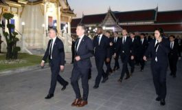 Skuat Leicester Hadiri Upacara Pemakaman Bos Klub di Bangkok