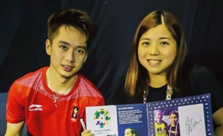 Detik-detik Kevin Sanjaya Bikin Hati Pebulu Tangkis Putri Macau Berantakan
