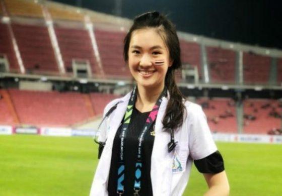 Dokter Cantik Timnas Thailand di Piala AFF Bikin Salah Fokus