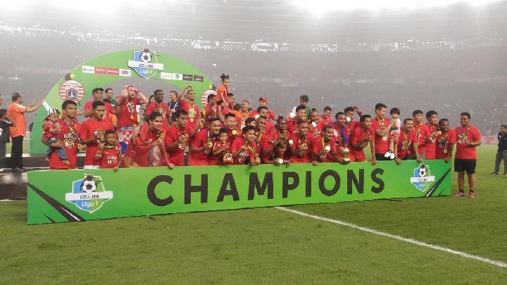 Persija Jakarta Juara Liga 1 2018