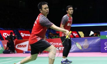 Ahsan/Hendra Butuh 26 Menit ke Semifinal Indonesia Masters 2019