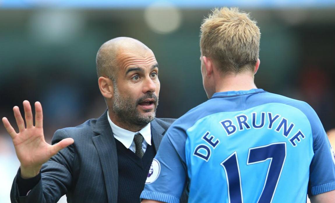 Guardiola: De Bruyne, Kunci Man City Kejar Liverpool