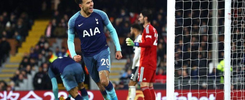 Comeback, Secara Dramatis Tottenham Kalahkakan Fulham