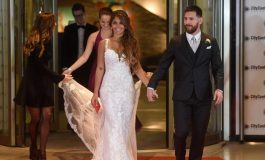 Hadiri Premier Film Messi, Antonella Roccuzzo Tampil Menawan