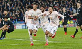 Hasil Pertandingan PSG vs Manchester United: Skor 1-3