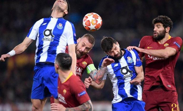 Hasil Pertandingan Porto vs AS Roma: Skor 3-1