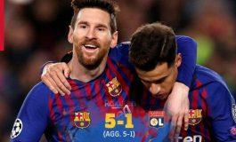 Hasil Pertandingan Barcelona vs Lyon: Skor 5-1