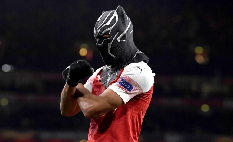 Aubameyang Inspirasi Comeback Arsenal