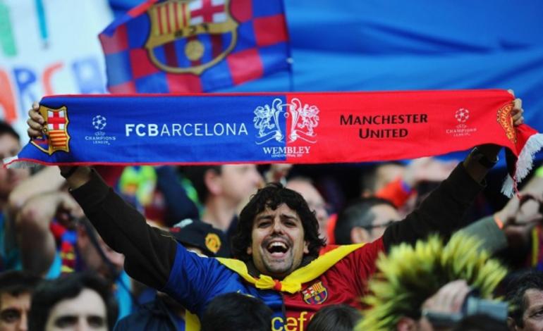 Catatan Lionel Messi dan Sejarah Pertemuan Barcelona vs Man Utd