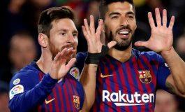 Messi-Suarez Selamatkan Barcelona dari Kekalahan pada Menit Akhir