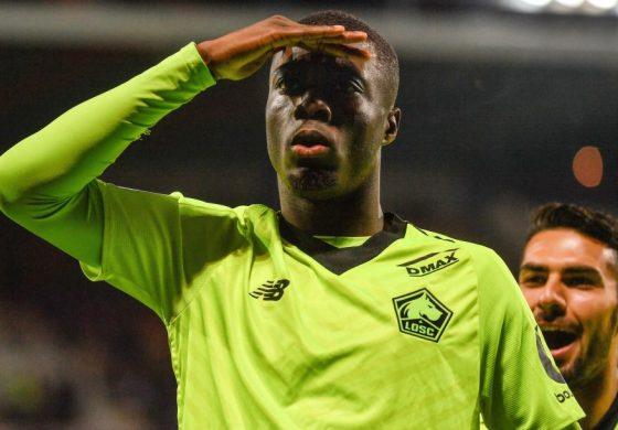 Nicolas Pepe, Bintang Muda Lille Target Transfer Liverpool