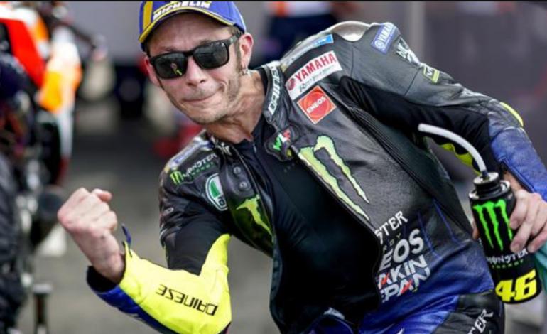 Rossi Girang Tempati Posisi 10 Besar