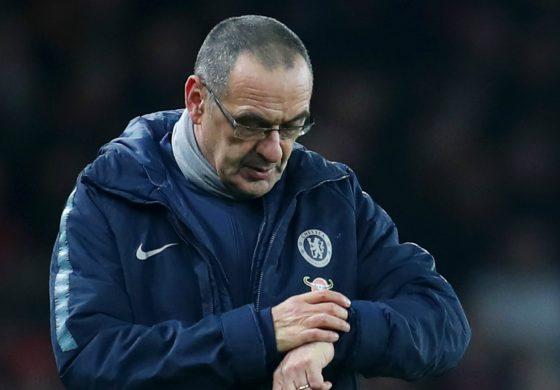 Pelatih Maurizio Sarri Optimistis The Blues Masuk Empat Besar