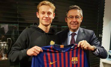 Frenkie de Jong Pede Bisa Rebut Posisi Starter di Barcelona