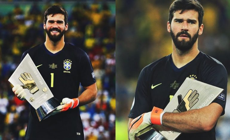 Alisson Becker, Pemborong Golden Gloves Calon Peraih Ballon d'Or