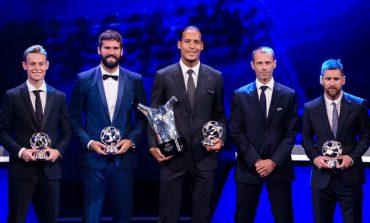Lionel Messi Raih Penghargaan Penyerang Terbaik Liga Champions 2018-19